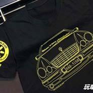 賓士 BENZ T恤 車友