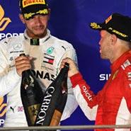 2018 F1 新加坡 世界一級方程式 法拉利 Ferrari 賓士 Benz Sebastian Vettel Lewis Hamilton