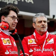 2019 F1 世界一級方程式 法拉利 Ferrari Maurizio Arrivabene Mattia Binotto 領隊 交替