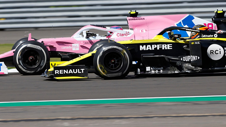 F1 Racing Point Renault 雷諾
