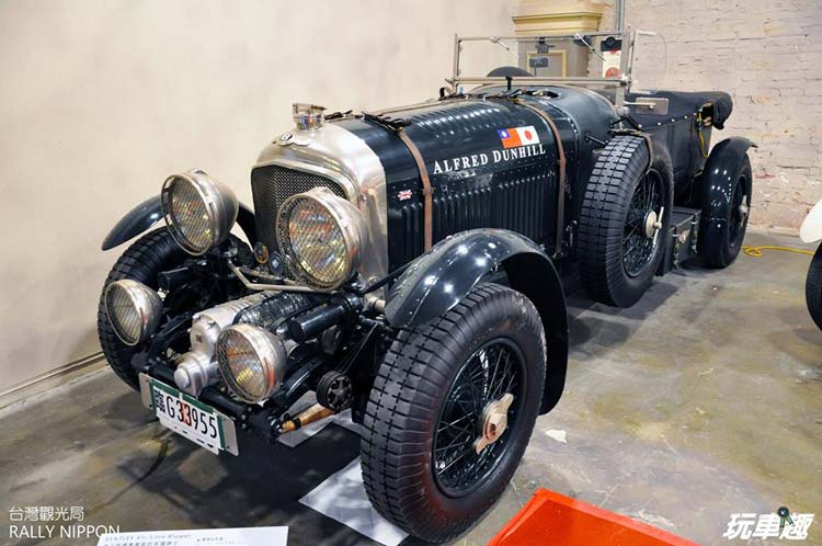 RALLY NIPPON IN TAIWAN - ENTLEY 4 1/2- Litre Blower